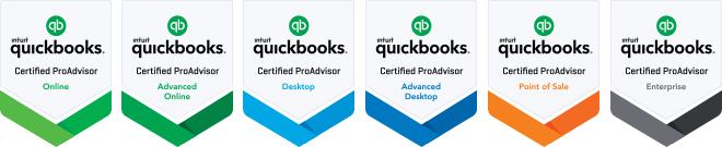 QuickBooks ProAdvisor Certifications