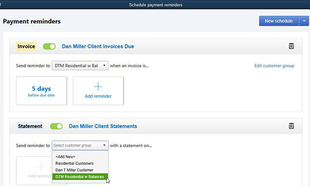 Quickbooks Payment Reminders Example Image 1