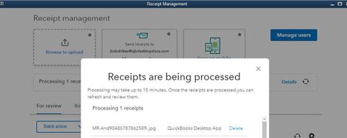Quickbooks Receipt Managment Example Image 6