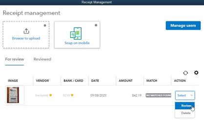 Quickbooks Receipt Managment Example Image 9